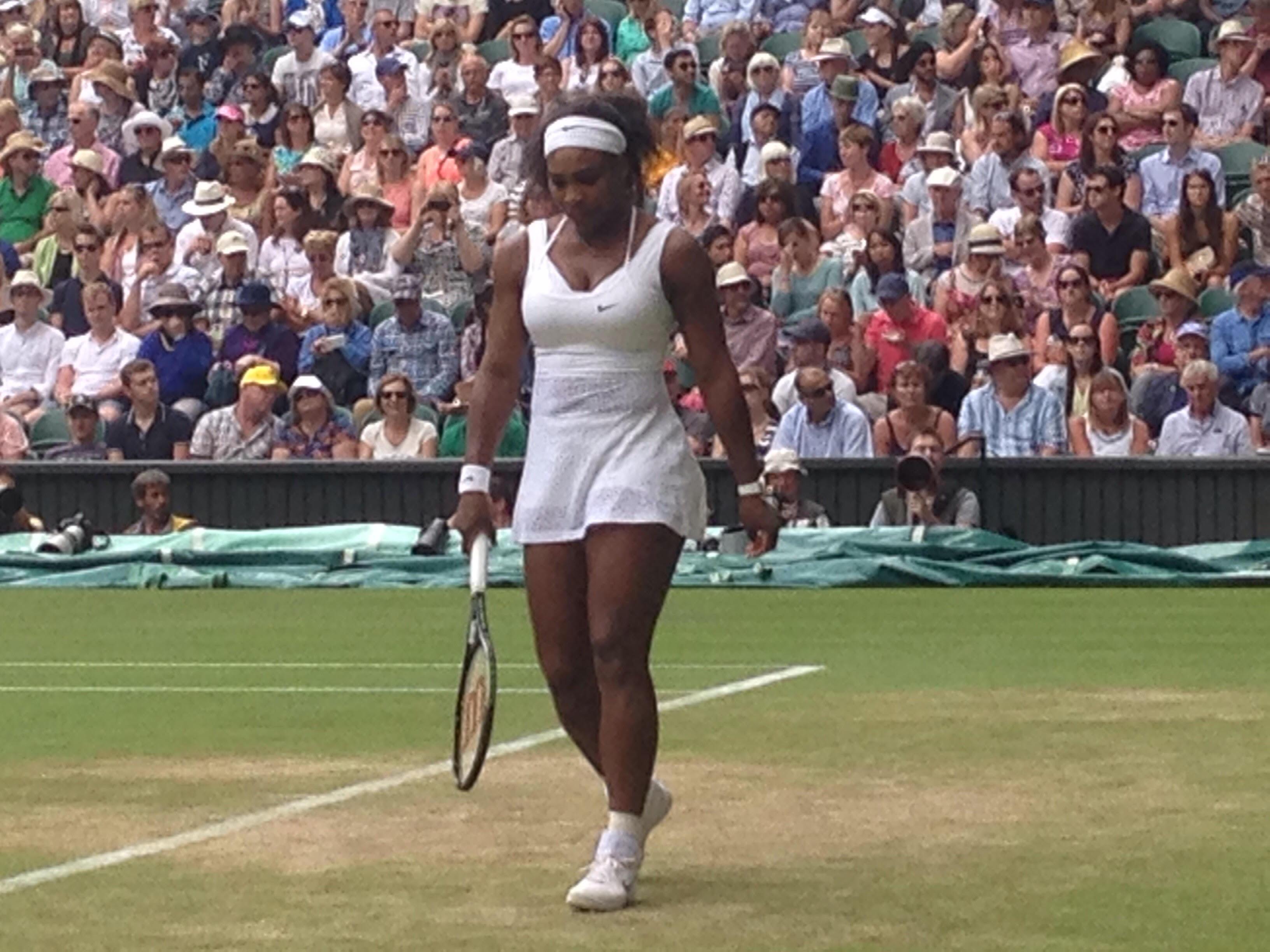 Serena Williams, Center Court, Wimbledon 2015