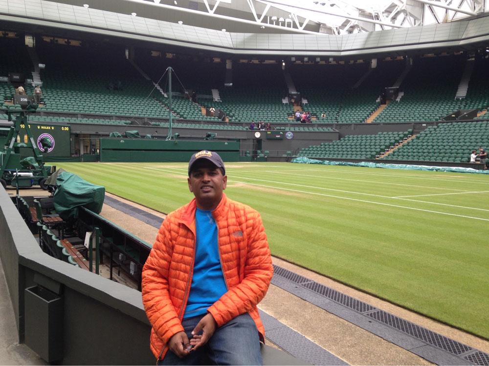 Vim at Center Court, Wimbledon 2015